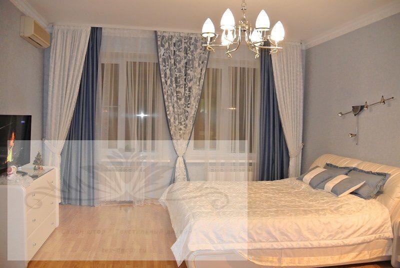 штора для спальни фото